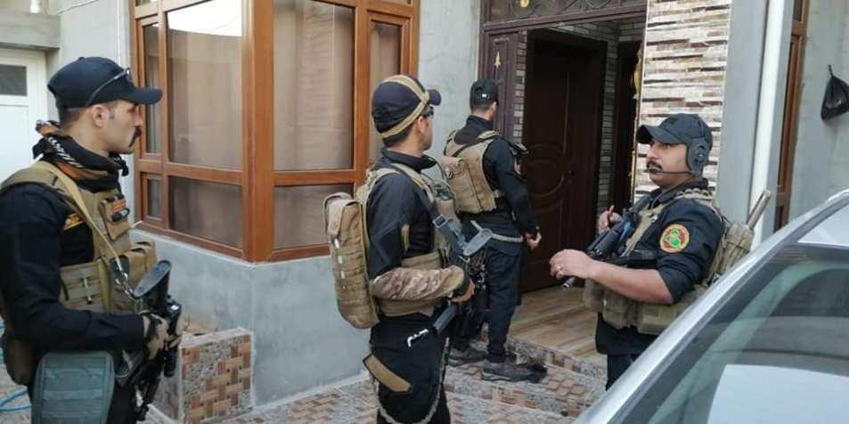 القوات الامنية تتمكن من القبض على ثلاثة عناصر من خلايا داعش الارهابية داخل مدينة كركوك