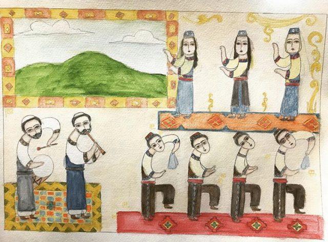 Türkmeneli ve Kerkük Kültürü Resim