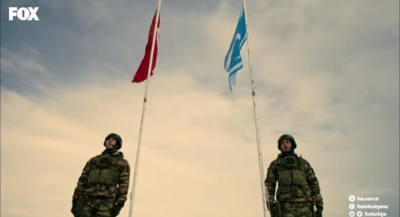 Savaşçı dizisindeki Türkmen köyüne saldırı