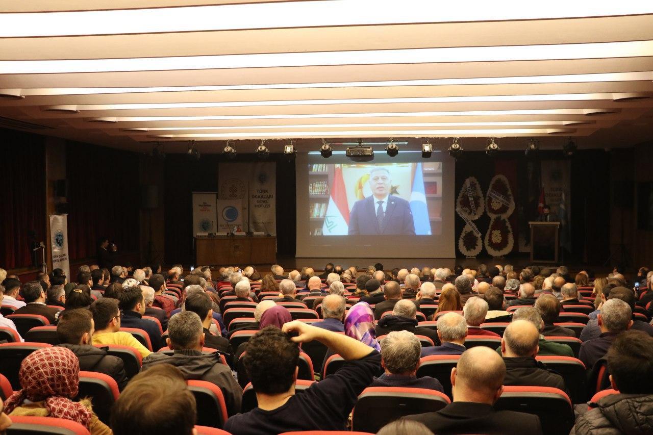 Ankara'da Türkmen Şehitleri anıldı