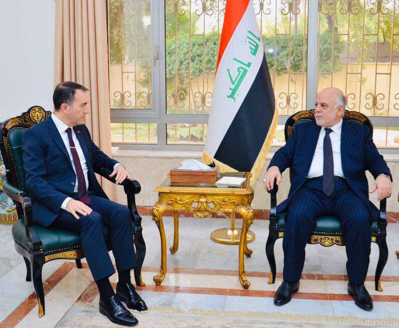 Büyükelçi Yıldız, Eski Başbakan İbadi ile görüştü
