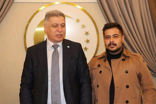 Erşat Salihi Türkiye'deki Türkmen Öğrencileri Kabul Etti