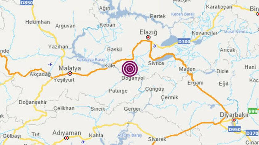 Deprem Elazığ