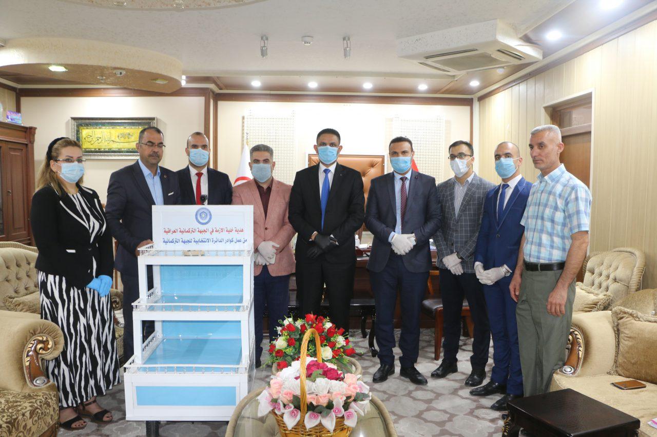 Irak Türkmen Cephesi Kriz Masası Robot Üretti