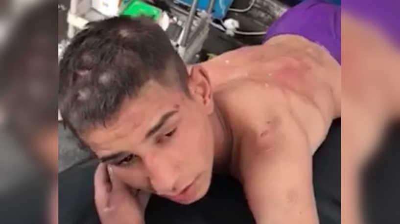 طفل عراقي مراهق