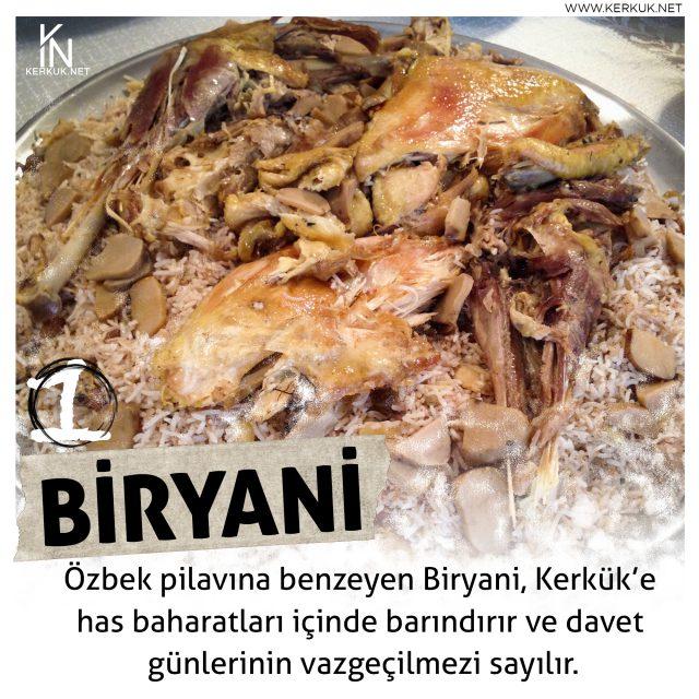 Türkmeneli Mutfağı, Biryani