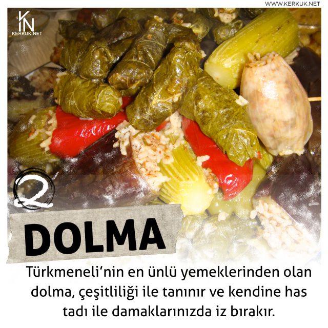 Türkmeneli Mutfağı, Kerkük Dolması