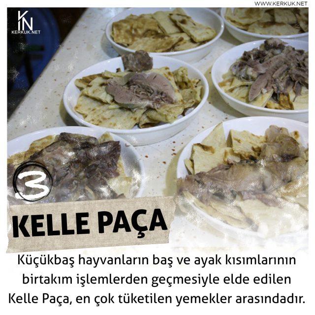 Türkmeneli Mutfağı, Kelle Paça