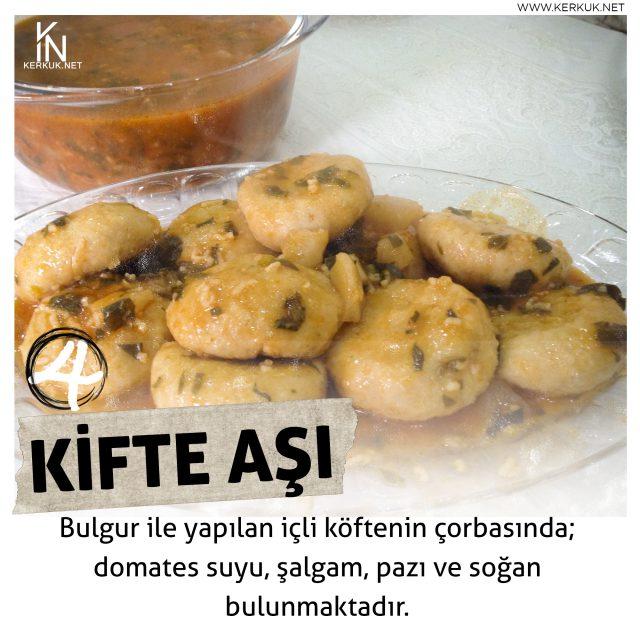 Türkmeneli Mutfağı, Kifte Aşı